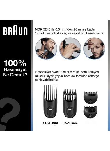 Braun Mgk 5245 Erkek Bakım Kiti 7İn1 Şekillendirici + Gillette Hediye Renkli